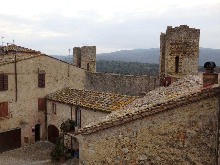 Тоскана. Монтериджони
