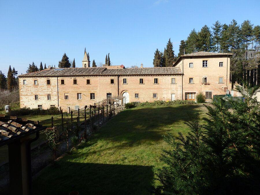Тоскана. Монастырь Сан-Вивальдо