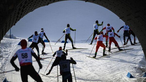Универсиада-2019. Лыжные гонки. Мужчины. Масс-старт