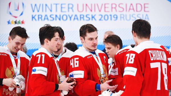 Универсиада-2019. Хоккей. Мужчины. Финал