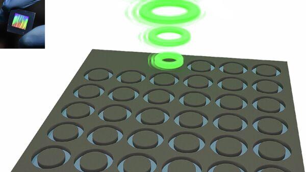 Нанолазеры, напечатанные физиками из Университета ИТМО