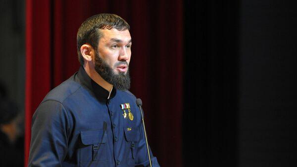 Председатель парламента Чеченской Республики Магомед Даудов