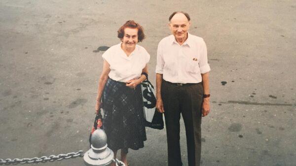 Анатолий Борисович с женой