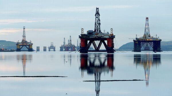 Нефтяные платформы в Шотландии