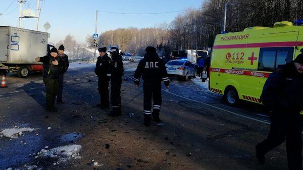 ДТП в Сергиево-Посадском муниципальном районе Подмосковья. 14 марта 2019