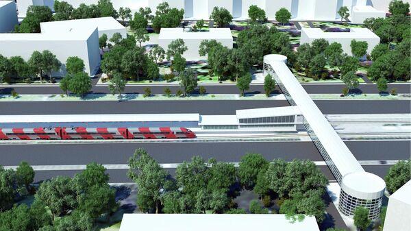 Проект планировки ТПУ Автозаводская в Москве