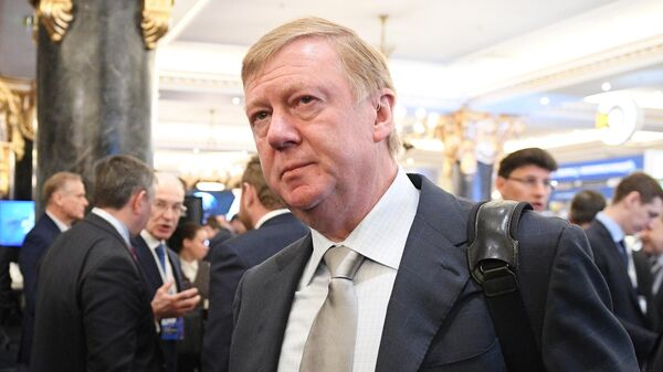 Председатель правления ООО УК Роснано Анатолий Чубайс