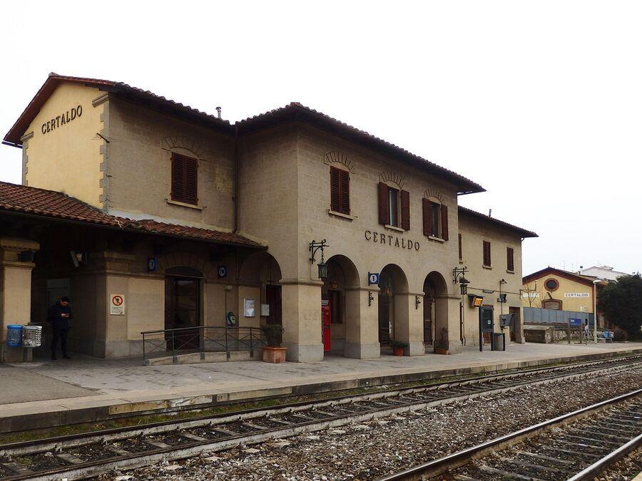 Тоскана. Станция Чертальдо