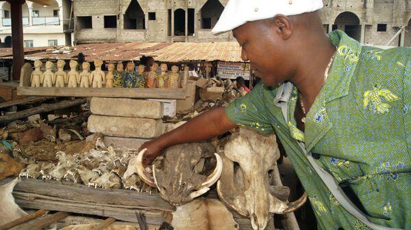 Рынок фетишей Акодессева в Ломе, Того