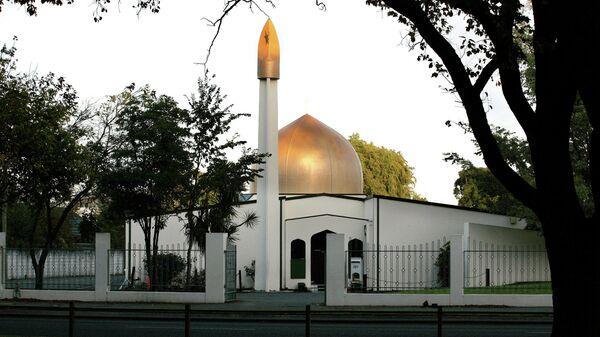 Вид на мечеть Аль-Нур в Крайстчерче, Новая Зеландия