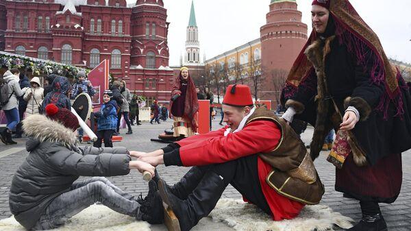 Участники фестиваля Крымская весна в Москве