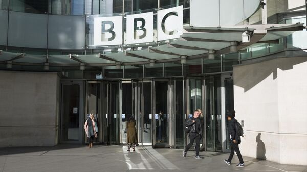 Штаб-квартира британской вещательной корпорации BBC в Лондоне