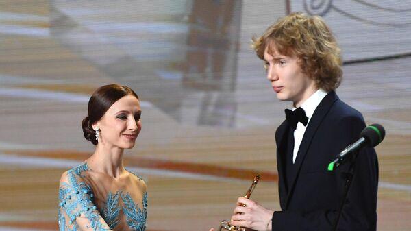 Российский пианист Иван Бессонов, удостоенный премии в номинации Открытие года