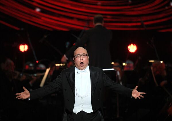 Китайский оперный певец Хао Чжан Тян