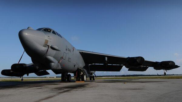 Стратегический бомбардировщик Boeing B-52H Stratofortress