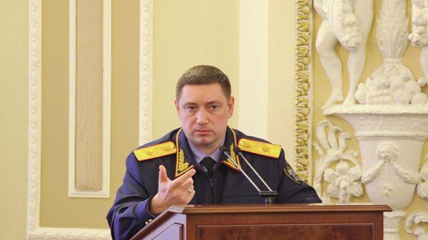 Руководитель Московского межрегионального следственного управления на транспорте СК России Сергей Вазюлин