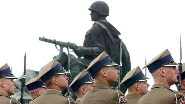 Солдаты польской армии