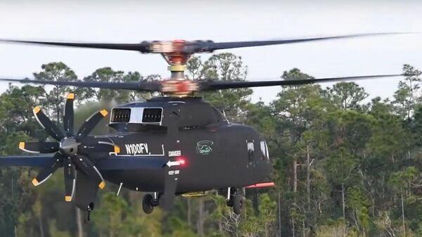 Испытания нового американского вертолета Sikorsky-Boeing SB-1 DEFIANT