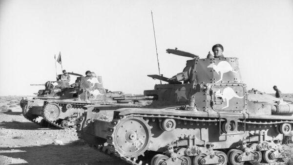 Танки M11/39, захваченные австралийцами