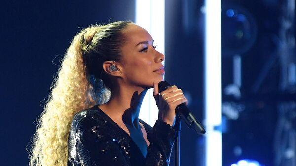 Певица Леона Льюис (Великобритания) во время церемонии вручения музыкальной премии BraVo в Москве