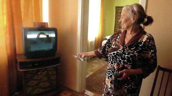 Пенсионерка из села Приютное в Калмыкии Нина Климчук