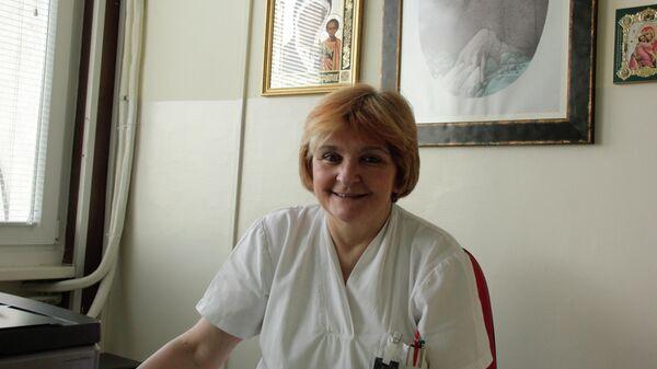 Начальник отделения нейроонкологии Клинического центра Сербии Даница Груйичич