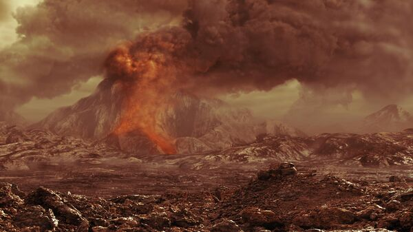 Венера во время вулканизма