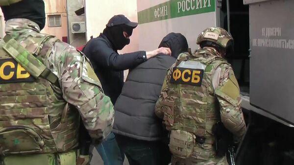 Задержание участников террористической организации