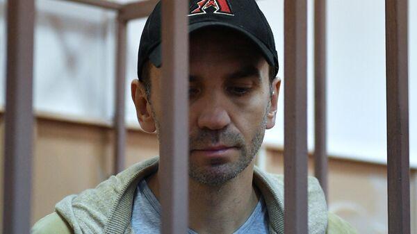 Бывший министр РФ по связям с Открытым правительством Михаил Абызов в Басманном суде Москвы. 27 марта 2019