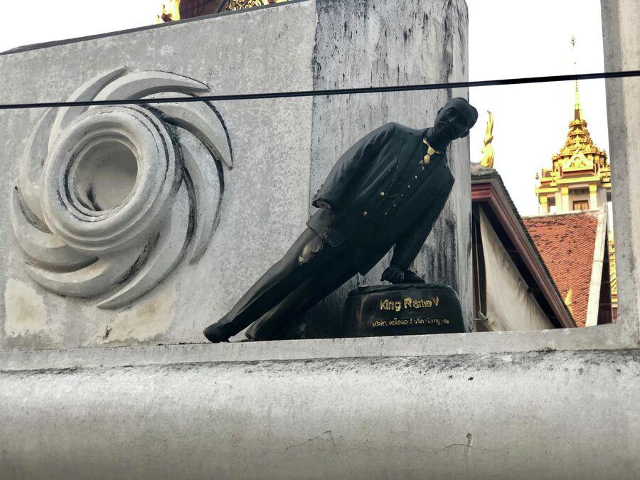 Сломанная фигура короля, Бангкок, Таиланд
