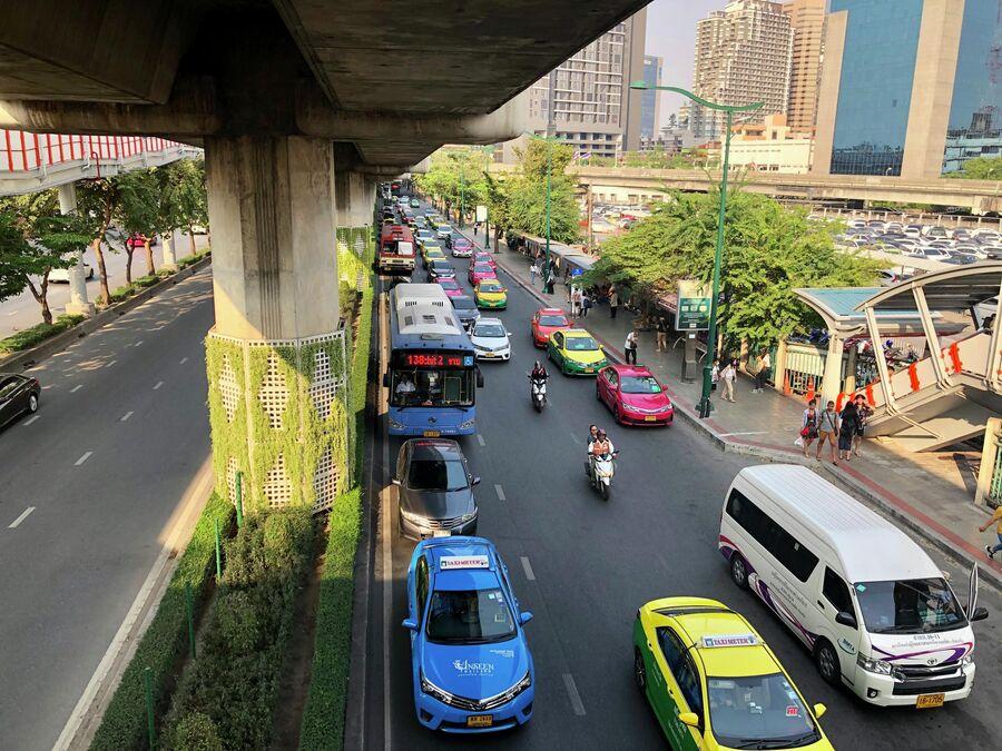 Дорога в Бангкоке, Таиланд