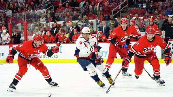 """""""Вашингтон"""" победил """"Каролину"""" и обеспечил себе место в плей-офф НХЛ"""