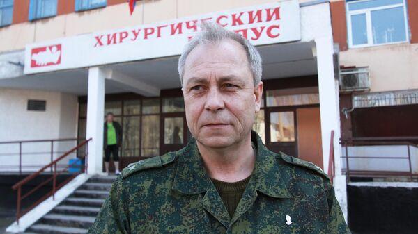 Заместитель начальника Управления Народной милиции ДНР Эдуард Басурин