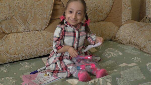 Самая маленькая девочка России: ниже метра в 13 лет