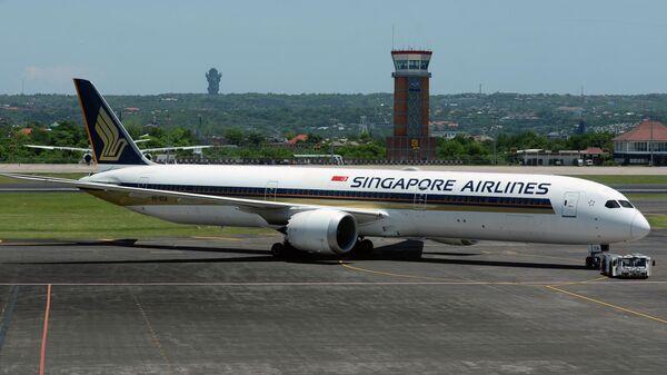 Singapore Airlines обнаружила проблему с двигателем в двух Boeing 787-10