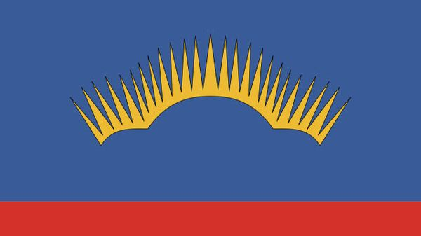 Мурманская область флаг