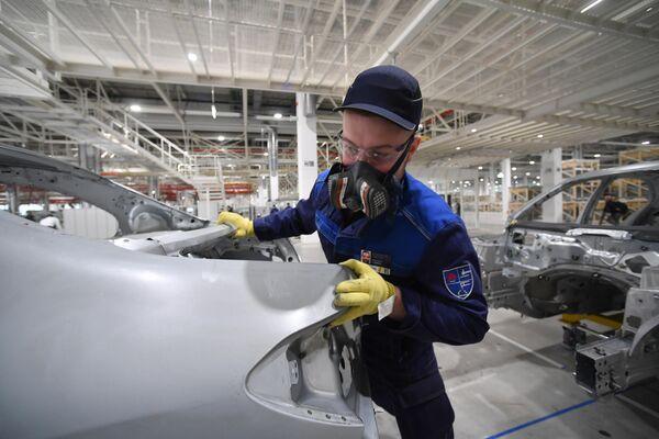 Открытие завода по производству легковых автомобилей Mercedes