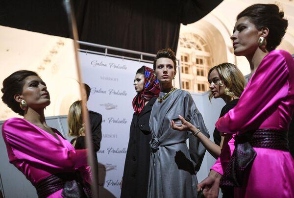 Mercedes-Benz Fashion Week Russia. День третий