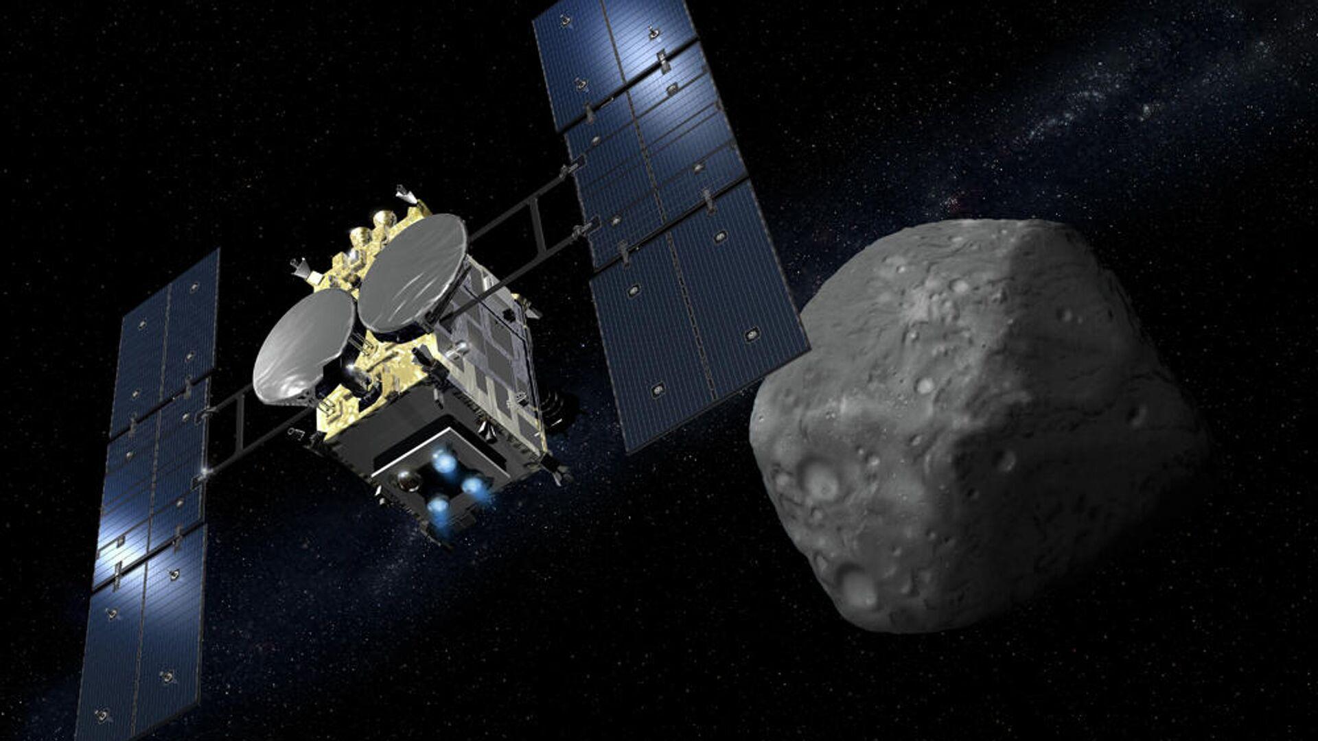 """Капсула с грунтом c астероида отделилась от японского зонда """"Хаябуса-2"""""""
