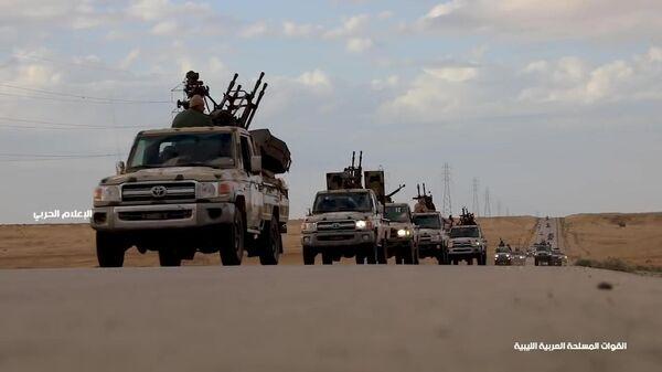 Военная техника Ливийской национальной армии (ЛНА) под командованием маршала Халифы Хафтара