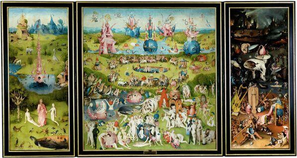 Триптих Иеронима Босха Сад земных наслаждений