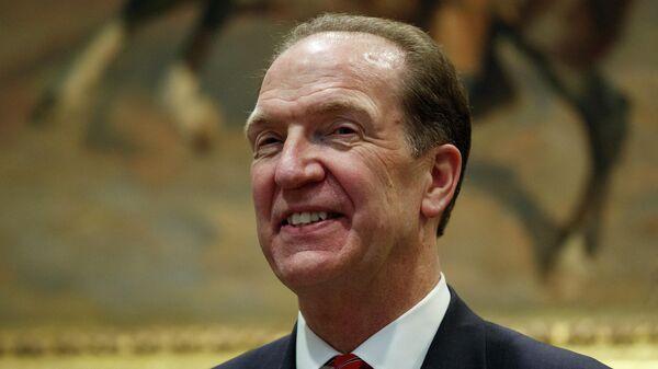 Новый глава Всемирного банка, американский экономист Дэвид Малпасс (David Malpass)