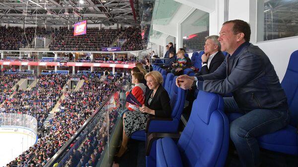 Дмитрий Медведев, Ольга Голодец и Павел Колобков