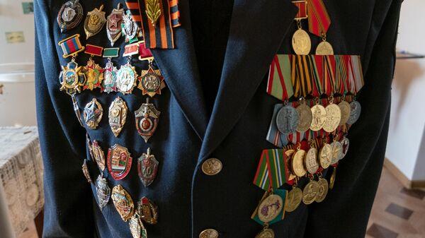 Ордена и медали ветерана Великой Отечественной войны Сергея Барсеговича Оганесяна