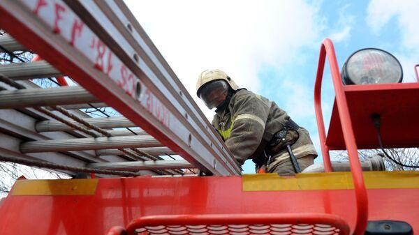 Работа пожарно - спасательного центра в Тамбове