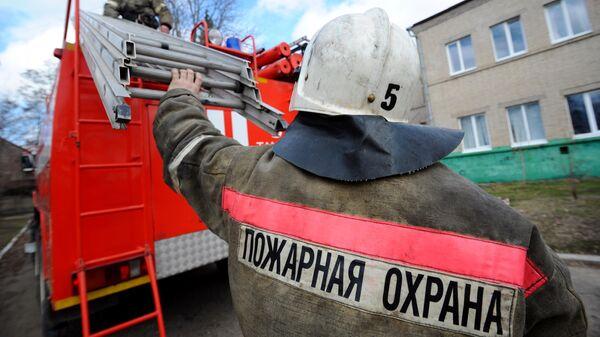 Работники пожарной охраны