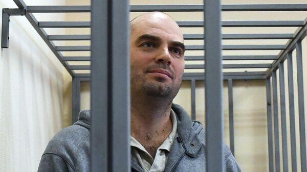 Экс-председатель правления банка Восточный Алексей Кордичев на заседании в Басманном суде Москвы