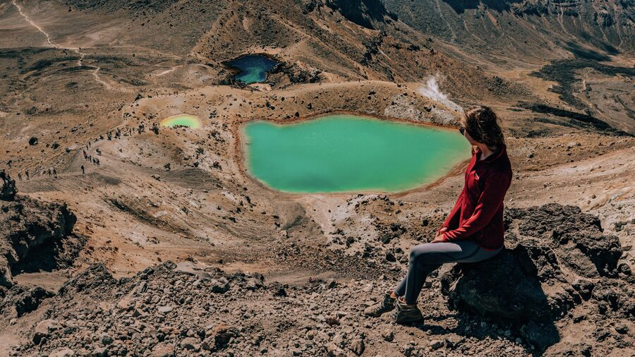 Путешествие в Новую Зеландию. В национальном парке Тонгариро