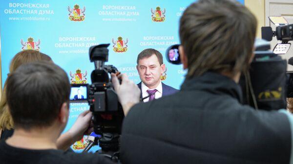 Председатель Воронежской областной думы Владимир Нетёсов