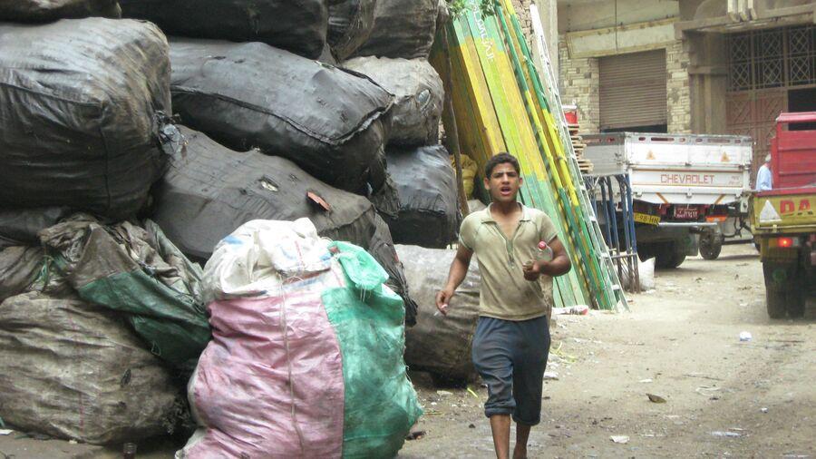 Квартал мусорщиков в Каире